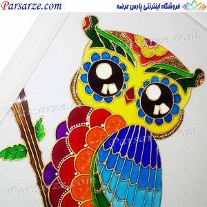 vitraiyart_glasspainting_Owl
