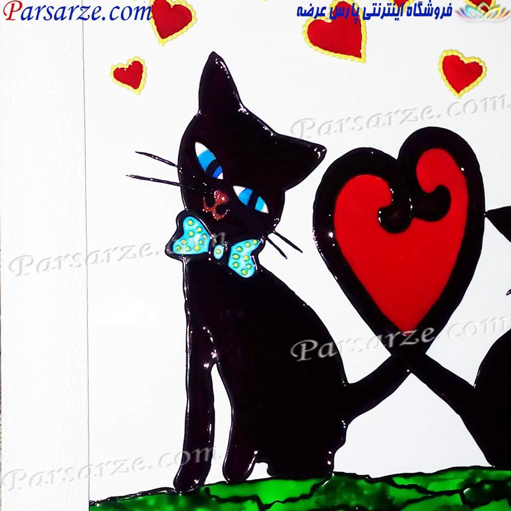 فروش اینترنتی تابلو نقاشی دیواری ارزان و شیک طرح قلب