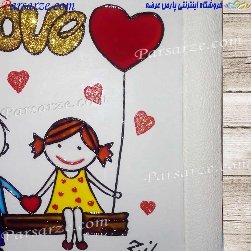 خرید هدیه تولد برای خانم ها طرح عاشقانه